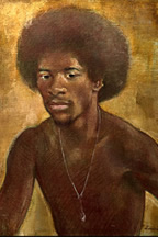 Horace Day Portrait of Dan Odie - Image Courtesy Alexandria Black History Museum