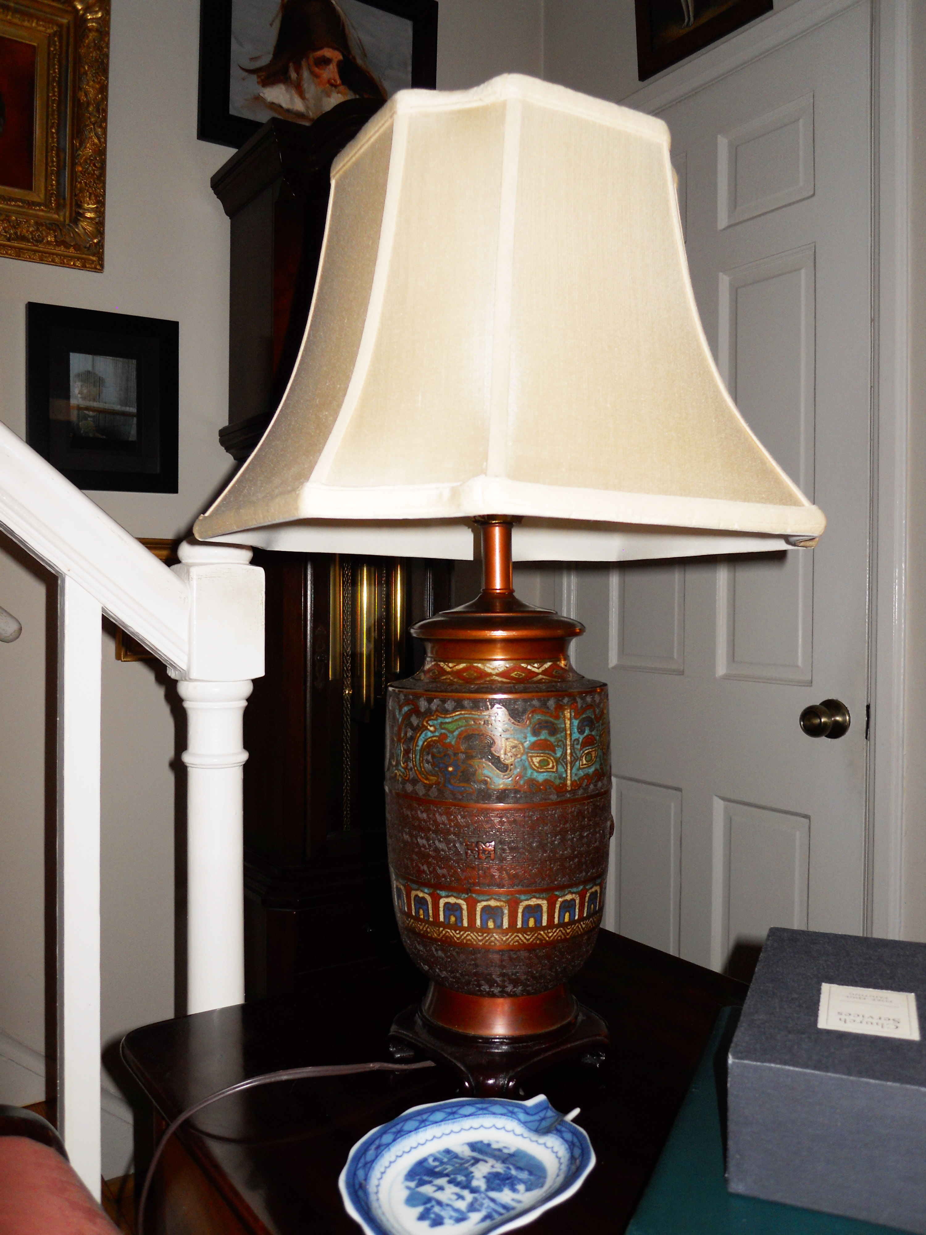 Our New Lamp from Artisan Lamp Company - Photo by Ron Patterson